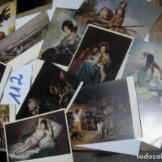Postales: ANTIGUO LOTE POSTALES MUSEO DEL PRADO - GOYA . Lote 112060543