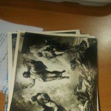 Postales: LOTE 3 100 POSTALES TEMÁTICA OBRAS DE ARTE. Lote 112516798