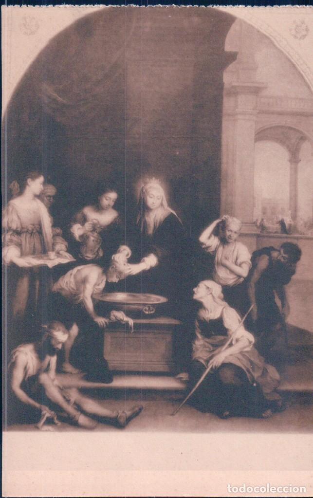 POSTAL MURILLO - SANTA ISABEL REINA DE HUNGRIA 993 - HAUSER Y MENET (Postales - Postales Temáticas - Arte)