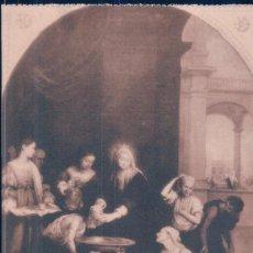 Postales: POSTAL MURILLO - SANTA ISABEL REINA DE HUNGRIA 993 - HAUSER Y MENET. Lote 113176619