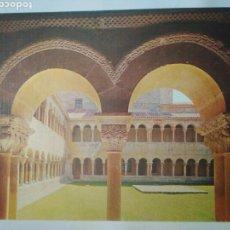 Postales: ANTIGUA FOTO POSTAL ABADIA SANTO DOMINGO SILOS,SIGLO XI EDIC.SICILIA N14. Lote 114356843