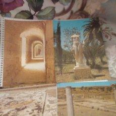 Postales: 4 FOTO POSTALES DE SEVILLA AÑOS 80 ITALICA 1,4,6Y10 VER FOTOS. Lote 114402147