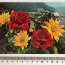 Postales: POSTAL. FLORES. C. Y Z. H. 1960?. Lote 114971779