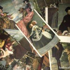 Postales: LOTE POSTALES ANTIGUAS HAUSER Y MENET SERIE MUSEO DEL PRADO. Lote 114997299