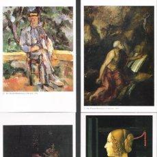 Postales: MUSEO THYSSEN BORNEMISZA.LOTE DE 30 POSTALES DISTINTAS DE GRANDES OBRAS DE ARTE. Lote 115078227