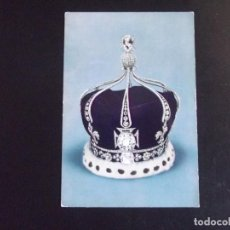 Postales: MUSEOS-V4-STATE CROWN OF QUEEN MARY(CONSORT OF KING GEORGE V). Lote 115282699