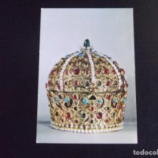 Postales: MUSEOS-V4-KUNSTHISTORISCHES MUSEUM-WIEN-THE CROWN OF STEPHAN BOCSKAY. Lote 115283347