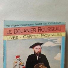 Postales: LE DOUANIER ROUSSEAU, LIBRO CON 30 POSTALES CON LO MEJOR DE SU OBRA. Lote 115365967