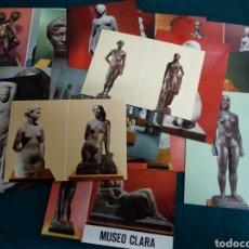 Postales: MUSEO CLARA .- 17 POSTALES DE LA 1ª SERIE .- COMERCIAL ESCUDO DE ORO .- SIN CIRCULAR. Lote 116513168