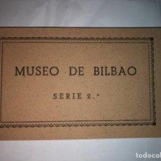 Postales: COLECCIÓN DE POSTALES (10) MUSEO DE BILBAO SERIE 2ª (COMPLETA). Lote 116571159