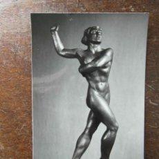 Postales: TARJETA POSTAL. MUSEO DE ARTE MODERNO DE TARRAGONA. TENISTA. FOTO RAYMOND. JULIO ANTONIO. Lote 116868471