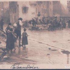 Postales: POSTAL A DAWANT - MISERES - SALON 1903. Lote 116912235