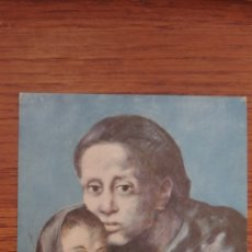 Postales: MATERNIDAD PABLO PICASSO MUSEO ARTE MODERNO BARCELONA POSTAL. Lote 117016431
