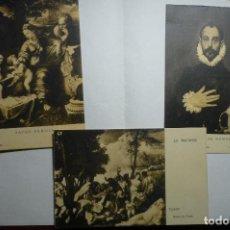 Postales: LOTE POSTALES MUSEO DEL PRADO -CM. Lote 117208707