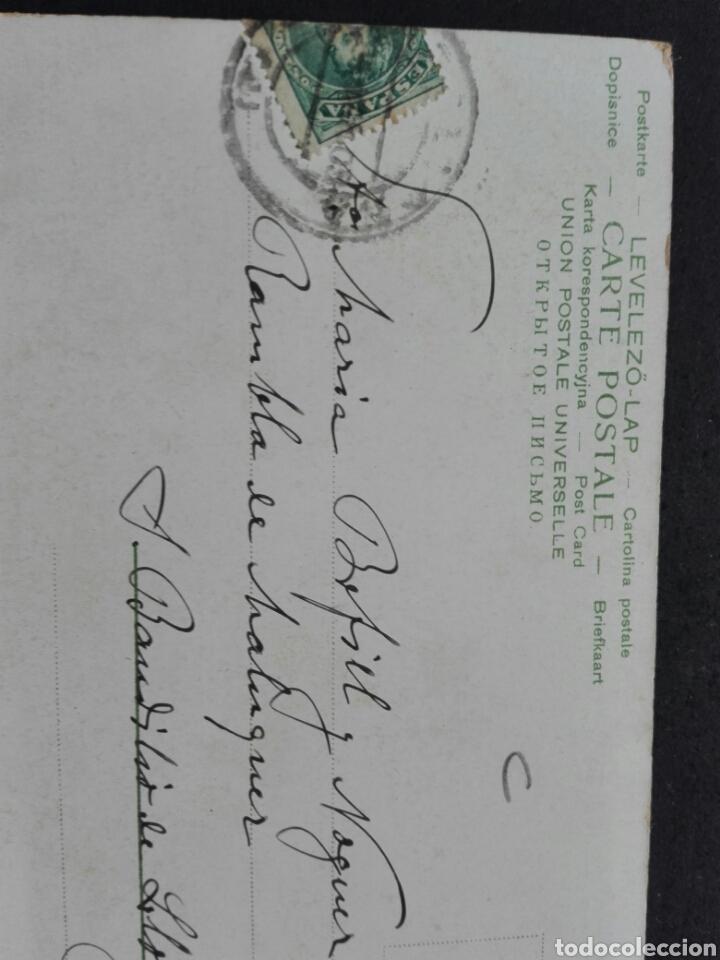 Postales: Postal pintura circulada 1903 - Foto 2 - 117271735