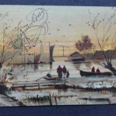 Postales: POSTAL PINTURA CIRCULADA 1903. Lote 117271735