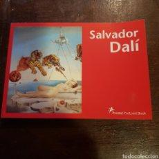 Postales: LIBRO COLECCIÓN DE 30 POSTALES DE SALVADOR DALÍ. PRESTEL POSTCARD BOOK. Lote 118040127