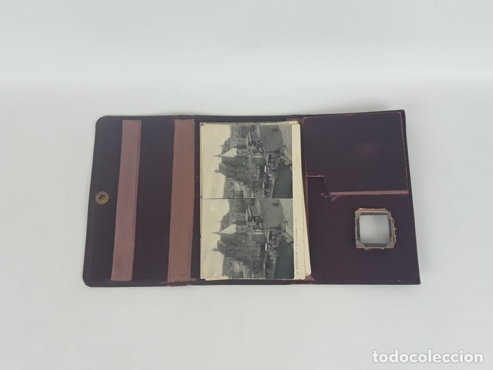 Postales: ESTEREO-TARJETA-POSTAL CON 24 POSTALES LL. BAILLY BAILLIERE E HIJOS. S.XX. - Foto 3 - 118800547