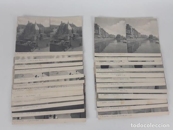 Postales: ESTEREO-TARJETA-POSTAL CON 24 POSTALES LL. BAILLY BAILLIERE E HIJOS. S.XX. - Foto 4 - 118800547