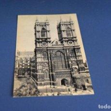 Postales: POSTAL SIN CIRCULAR - ARTE GOTICO - LONDRES - INGLATERRA ABADIA DE WESTMINSTER - EDITA ARTIGAS. Lote 119053147