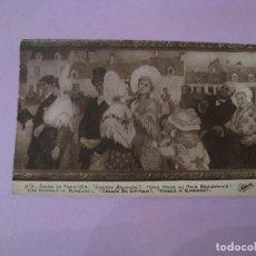 Postales: ANTIGUA POSTAL DE SALON DE PARIS 1914. BODA EN BURGUNDIA.. Lote 119127351