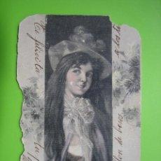 Postales: ANTIGUA POSTAL 1902. SELLO ALFONSO XIII. Lote 119426183