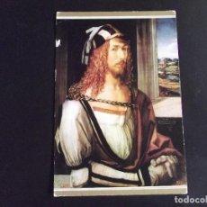 Postales: MUSEOS-ARTE-V2-MUSEO DEL PRADO-ESCUDO DE ORO-DURERO-AUTORRETRATO. Lote 119502027