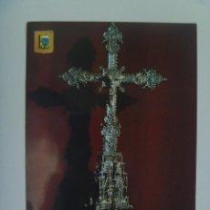 Postales: POSTAL DE CRUZ PROCESIONAL GOTICA, SIGLO XIV . MONASTERIO DE LA RABIDA ( HUELVA ). Lote 121667387