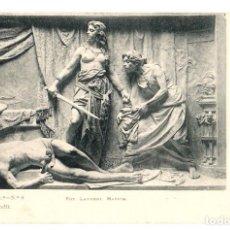 Postales: TARJETA POSTAL ANICETO MARINAS. JUDIT. SERIE 1ª. Nº 8. FOT. LAURENT. AÑO 1902. Lote 121717735