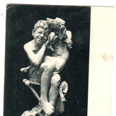Postales: TARJETA POSTAL ANICETO MARINAS. DESCANSO DEL MODELO. SERIE 1ª. Nº 2. FOT. LAURENT. AÑO 1902. Lote 121718014