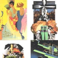 Postales: JOSEP RENAU.6 POSTALES DEL ARTISTA VALENCIANO.. Lote 121776067