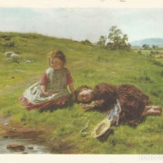 Postales: POSTAL OBRA DE WILLIAN MCTAGGART (1835-1910) SPRING (1864) - NATIONAL GALLERY OF SCOTLAND - S/C. Lote 121794863