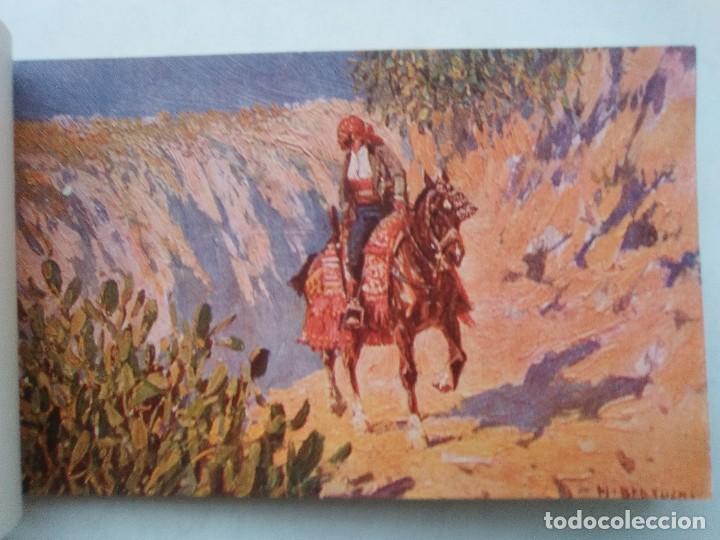 Postales: COSTUMBRES ANDALUZAS POR M. BERTUCHI. CARNET Nº 2. 10 POSTALES. JUAN BARGUÑÓ. BARCELONA - Foto 2 - 122960591