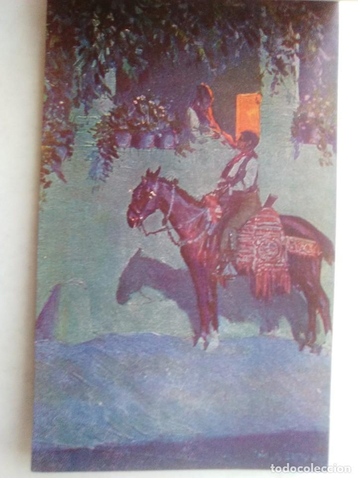 Postales: COSTUMBRES ANDALUZAS POR M. BERTUCHI. CARNET Nº 2. 10 POSTALES. JUAN BARGUÑÓ. BARCELONA - Foto 6 - 122960591
