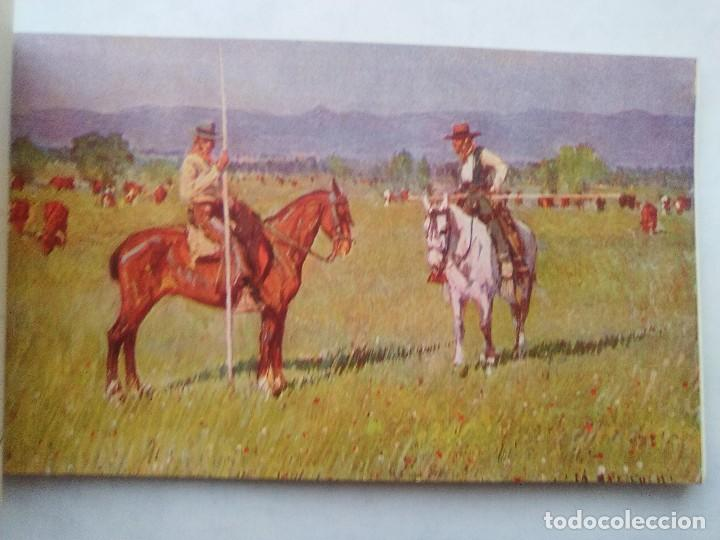 Postales: COSTUMBRES ANDALUZAS POR M. BERTUCHI. CARNET Nº 2. 10 POSTALES. JUAN BARGUÑÓ. BARCELONA - Foto 7 - 122960591
