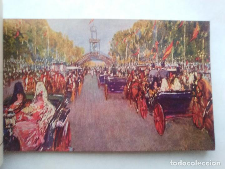 Postales: COSTUMBRES ANDALUZAS POR M. BERTUCHI. CARNET Nº 2. 10 POSTALES. JUAN BARGUÑÓ. BARCELONA - Foto 8 - 122960591