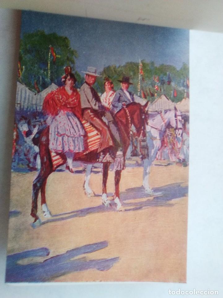 Postales: COSTUMBRES ANDALUZAS POR M. BERTUCHI. CARNET Nº 2. 10 POSTALES. JUAN BARGUÑÓ. BARCELONA - Foto 11 - 122960591