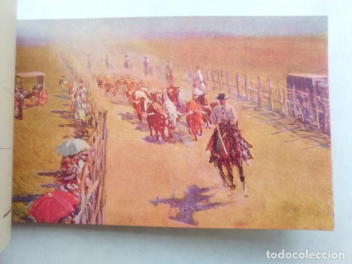 Postales: COSTUMBRES ANDALUZAS POR M. BERTUCHI. CARNET Nº 2. 10 POSTALES. JUAN BARGUÑÓ. BARCELONA - Foto 12 - 122960591