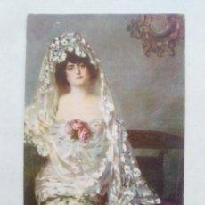 Postales: TARJETA POSTAL. JEREZANA - PINTURA DE RAMON CASAS. Nº 4. ED. VICTORIA. PRINCIPIOS S. XX . Lote 122964971