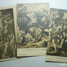 Postales: LOTE POSTALES MADRID MUSEO DEL PRADO - 1 ESCRITA--CM. Lote 124031707