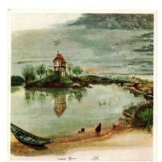 Postales: POSTAL POST CARD CARTE POSTALE ALBRECHT DÜRER ALBERTO DURERO PINTURA PINTOR WEIHEHÄUSCHEN HOUSE POND. Lote 124293763