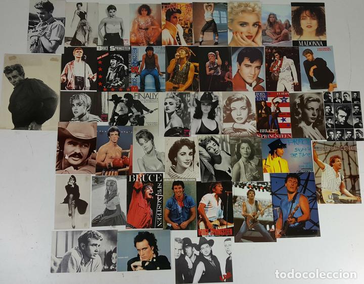 COLECCIÓN DE 44POSTALES Y FOTOGRAFIAS DE ARTISTAS. VARIAS EDITORIALES. AÑOS 80. (Postales - Postales Temáticas - Arte)
