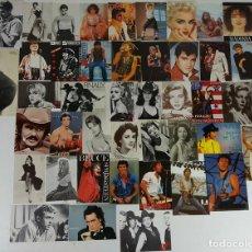 Postales: COLECCIÓN DE 44POSTALES Y FOTOGRAFIAS DE ARTISTAS. VARIAS EDITORIALES. AÑOS 80. . Lote 124586803