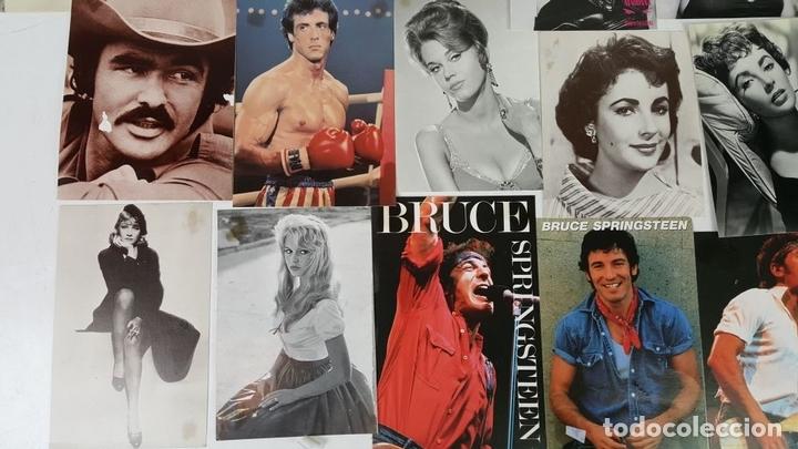 Postales: COLECCIÓN DE 44POSTALES Y FOTOGRAFIAS DE ARTISTAS. VARIAS EDITORIALES. AÑOS 80. - Foto 3 - 124586803