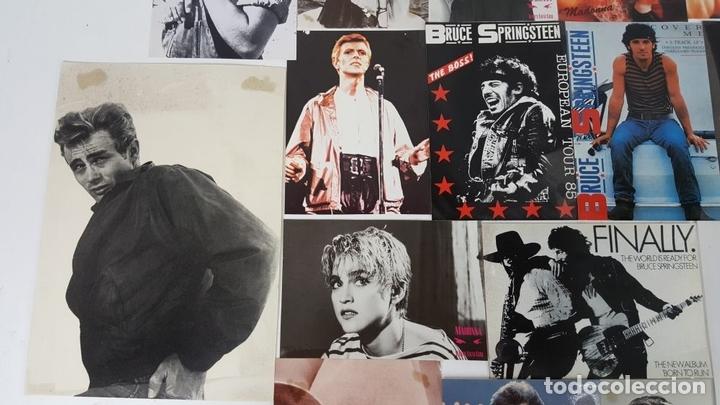 Postales: COLECCIÓN DE 44POSTALES Y FOTOGRAFIAS DE ARTISTAS. VARIAS EDITORIALES. AÑOS 80. - Foto 4 - 124586803