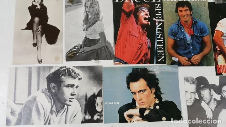 Postales: COLECCIÓN DE 44POSTALES Y FOTOGRAFIAS DE ARTISTAS. VARIAS EDITORIALES. AÑOS 80. - Foto 5 - 124586803
