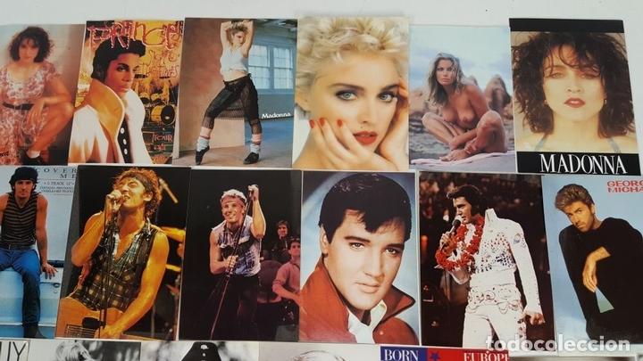 Postales: COLECCIÓN DE 44POSTALES Y FOTOGRAFIAS DE ARTISTAS. VARIAS EDITORIALES. AÑOS 80. - Foto 6 - 124586803