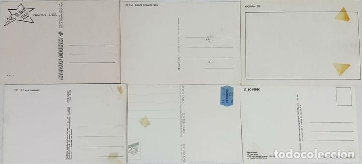 Postales: COLECCIÓN DE 44POSTALES Y FOTOGRAFIAS DE ARTISTAS. VARIAS EDITORIALES. AÑOS 80. - Foto 7 - 124586803