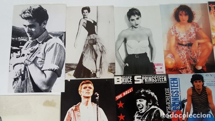Postales: COLECCIÓN DE 44POSTALES Y FOTOGRAFIAS DE ARTISTAS. VARIAS EDITORIALES. AÑOS 80. - Foto 8 - 124586803