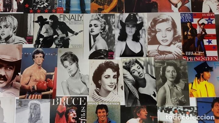 Postales: COLECCIÓN DE 44POSTALES Y FOTOGRAFIAS DE ARTISTAS. VARIAS EDITORIALES. AÑOS 80. - Foto 10 - 124586803